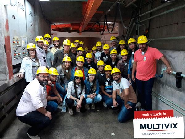 Alunos realizam visita à Hidrelétrica de Itaipu
