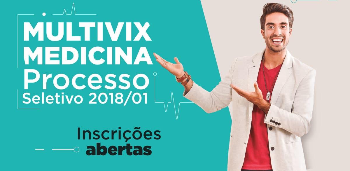 Processo Seletivo de Medicina 2018/1 Multivix