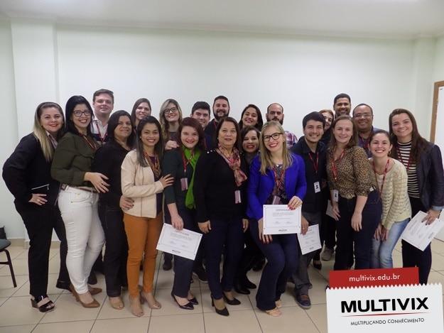 Premiação dos Professores Destaques da Multivix 2016/2 e 2017/1