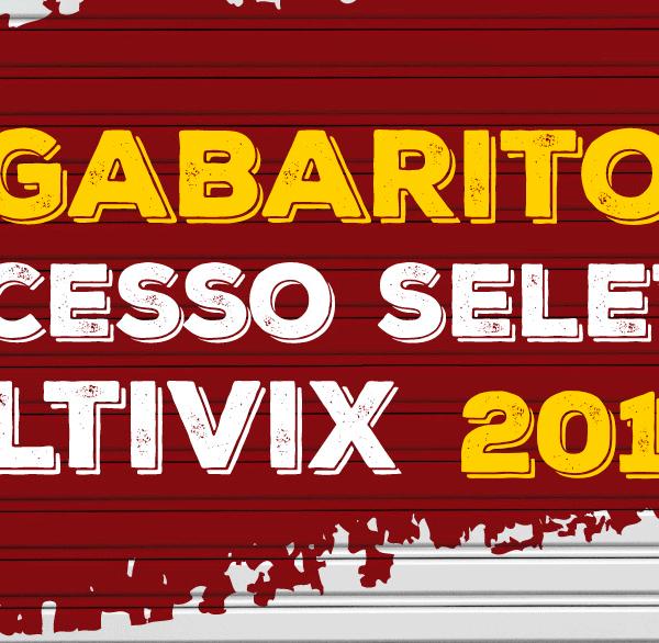Gabarito Processo Seletivo Multivix 2018.1