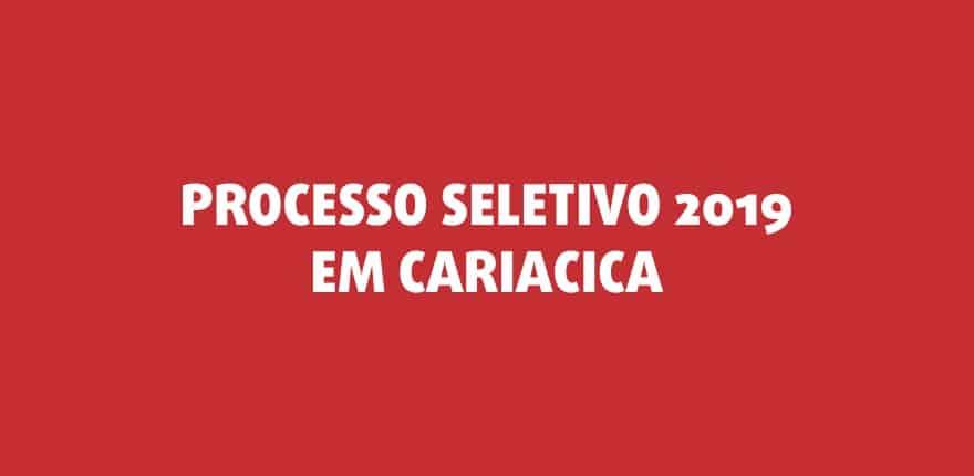 Processo Seletivo 2019 em Cariacica