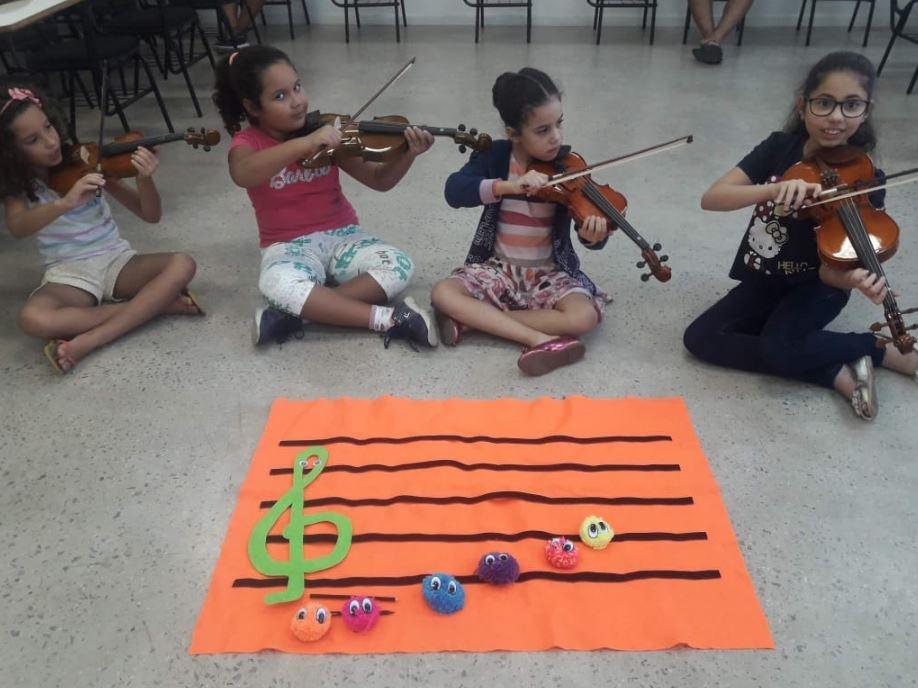 Inscrições para projeto de musicalização infantil 2019