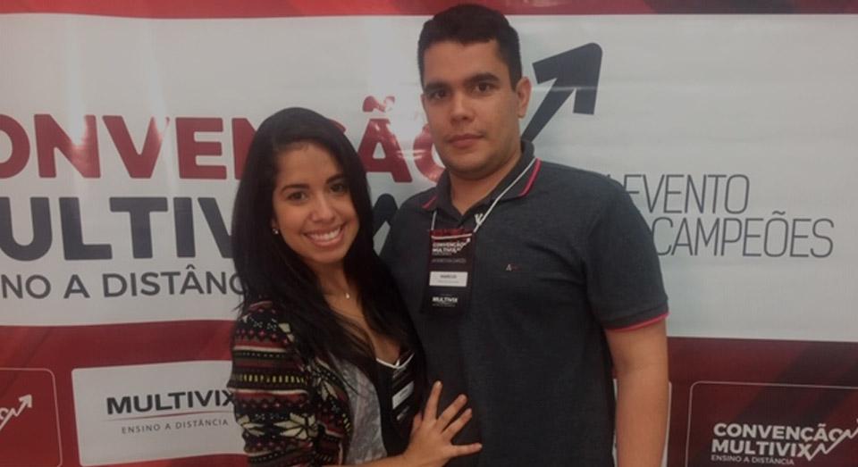 Marcus Júnior e Letícia Santana