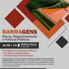 Palestra Barragens - Riscos, Regulamentação e Políticas Públicas