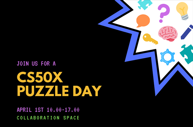 Universidade de Harvard anunciou o CS50x Puzzle Day