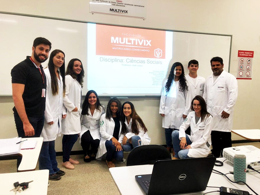 Grupo 1 - Seminário para o curso de Medicina Veterinária no contexto das Ciências Sociais: o médico veterinário e a sociedade