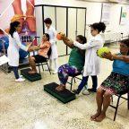 projeto de assistência fisioterapêutica com nome Assistência à Saúde e Prevenção das Paneleiras de Goiabeiras