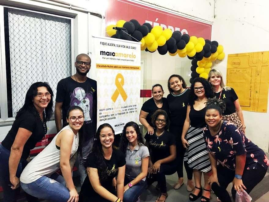 Campanha Maio Amarelo em Cariacica