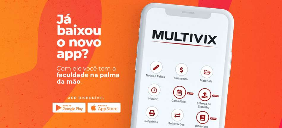 Aplicativo mobile Multivix 20 anos