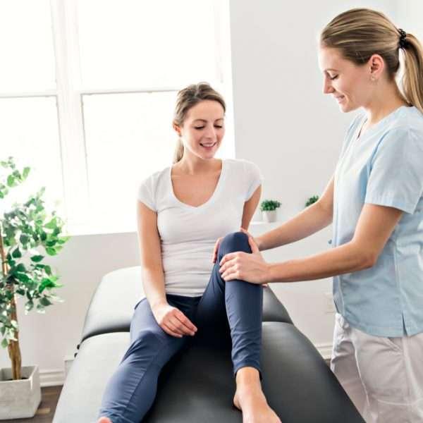 Profissional graduada no curso de Fisioterapia