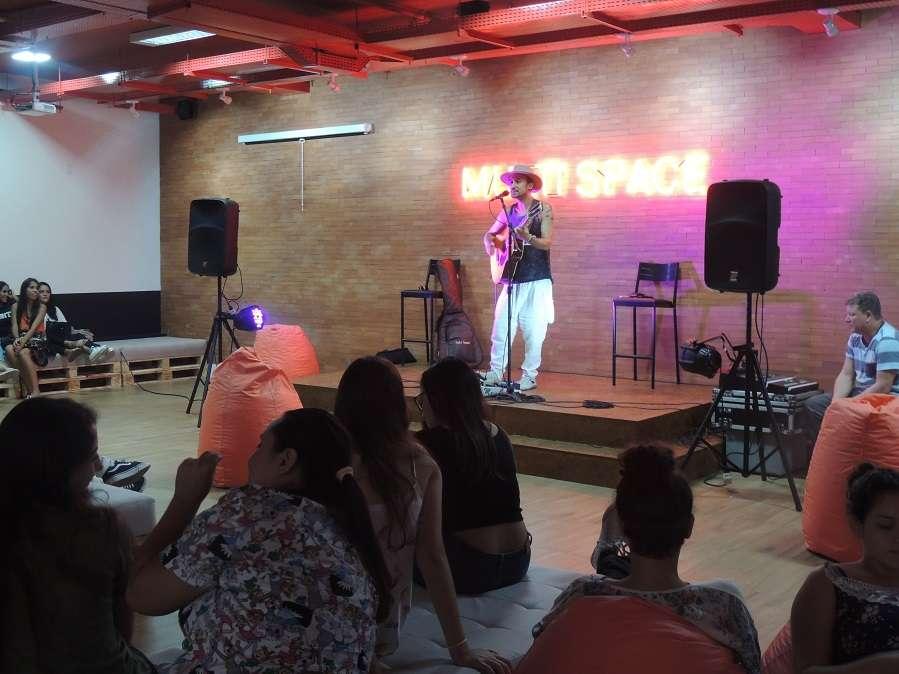 Show do Nano Vianna reuniu todos os veteranos durante a inauguração do MultiSpace em Vitória