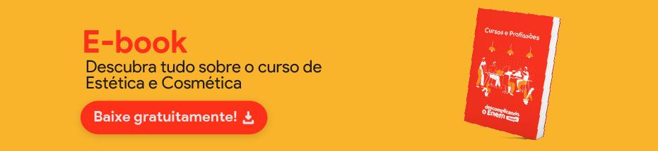 E-book Estética e Cosmética