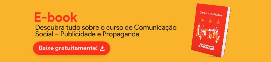 E-book Comunicação Social - Publicidade e Propaganda